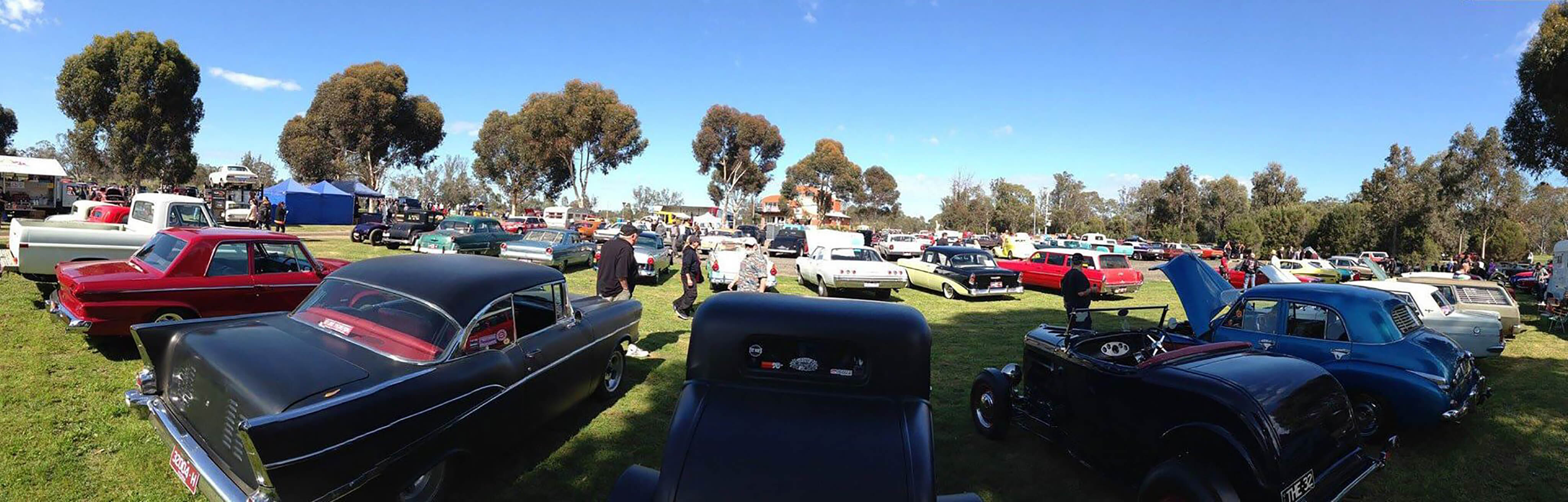 Cranksters Cruise Nagambie - 3rd weekend in September.
